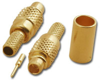 MMCX-Plug Crimp Connector for RG-316/U - Pan-Pacific #MMC-2101