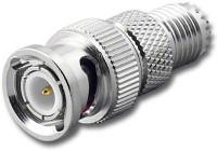 BNC-Male to Mini-UHF-Female Coaxial Adapter RFA-8323