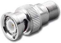BNC-Male to F-Female Coaxial Adapter (RFA-8373)