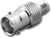 BNC-Female to SMA-Female Coaxial Adapter (RFA-8381)