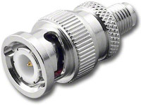 BNC-Male to SMA-Female Coaxial Adapter (RFA-8383)