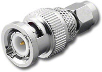 BNC-Male to SMA-Male Coaxial Adapter (RFA-8384)