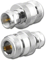 N-Female to F-Male CATV Coaxial Adapter RFA-8672