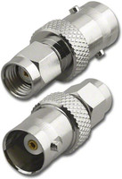 RP-SMA-Male to BNC-Female Coaxial Adapter (RFA-8833)