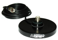 OPEK AM-1025B - SO-239 UHF-Female Mobile Antenna Magnetic Base Mount