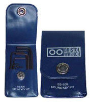 Bristol SS-508 - Spline Wrench Set for Hallicrafters Radios Screws