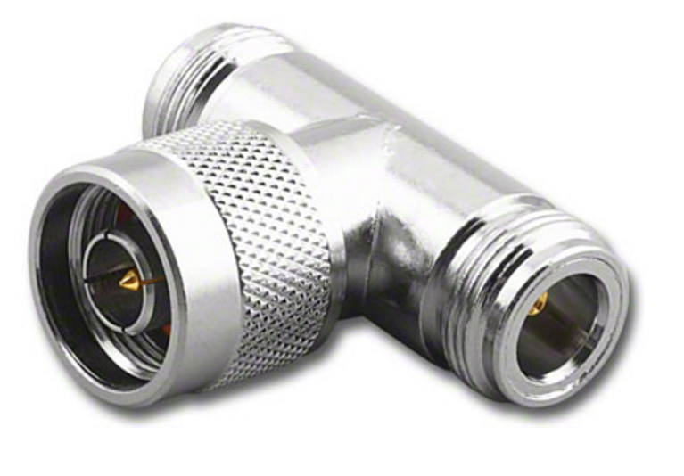 Type n male female tee coaxial adapter connector ars g