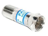 8 dB Fixed In-Line Coaxial Attenuator Satellite TV CATV (RFF-7766-8)