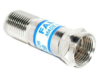 10 dB Fixed In-Line Coaxial Attenuator Satellite TV CATV (RFF-7766-10)