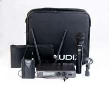Audix W3310 Combo Wireless System with OM3 Dynamic Handheld Transmitter and Bodypack Transmitter with ADX10 Lavalier
