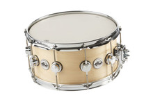 DW 7X13 Collectors Natural Satin Oil Top Edge Snare Drum DRSO0713SFC