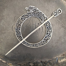 Celtic Lion Shawl Pin