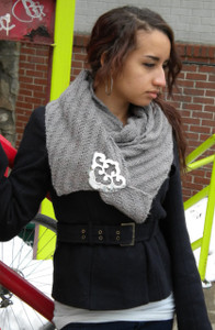 Infinity Scarf with JUL Spiral Bridge Closure