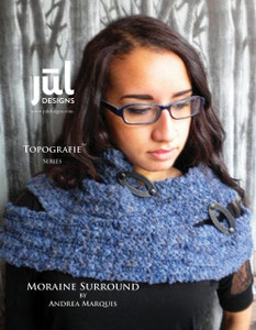 Moraine Surround Scarf Pattern