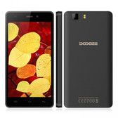 "doogee x5 mtk6580 1.5ghz quad core 5"" hd screen black android 5.1 3g smartphone"