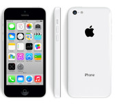 "apple iphone 5c white 8mp camera 32gb rom 4"" screen smartphone + free gifts"