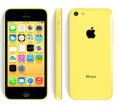 "apple iphone 5c yellow 8mp camera 32gb rom 4"" screen smartphone + free gifts"
