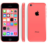 "apple iphone 5c red unlocked 16gb rom 4"" screen smartphone + free gifts"