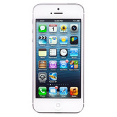 apple iphone 5s white 64gb 8mp camera ios 10 multitouch smartphone + gifts