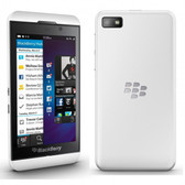 "blackberry z30 white 2gb ram 16gb rom 5.0"" screen 8mp camera smartphone gifts"