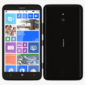 NOKIA LUMIA 1320 RM-994 8GB ROM 1GB RAM 5MP CAMERA UNLOCKED BLACK SMARTPHONE