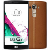 "lg g4 h818n 3gb 32gb dual sim leather brown hexa core 5.5"" screen android lte smartphone"