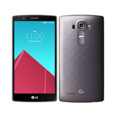 "lg g4 h818n 3gb 32gb dual sim grey hexa core 5.5"" screen android lte smartphone"