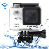 puluz u6000 full hd 1080p white wifi waterproof sport action camcorder