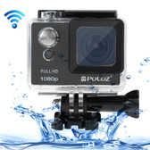 puluz u6000 full hd 1080p black wifi waterproof sport action camcorder