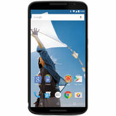 "NEW UNLOCKED MOTOROLA NEXUS 6 XT1103 64GB BLUE 13MP 5.96"" SMARTPHONE + GIF"