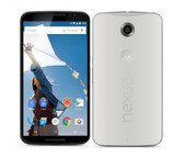 "NEW UNLOCKED MOTOROLA NEXUS 6 XT1103 64GB WHITE 13MP 5.96"" SMARTPHONE + GIF"