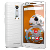 "MOTOROLA DROID TURBO 2 XT1585 WHITE 3GB/32GB 5.4"" HD SCREEN ANDROID 5.1 4G SMARTPHONE"
