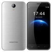 "HOMTOM HT3 PRO SILVER 1.3GHz QUAD CORE 5.0"" HD SCREEN ANDROID 5.1 4G LTE SMARTPHONE"