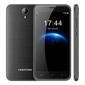 "homtom ht3 pro black 1.3ghz quad core 5.0"" hd screen android 5.1 lte smartphone"