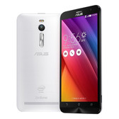 "asus zenfone 2 white 4gb 64gb quad core 5.5"" screen android 5.0 4g lte smartphone"