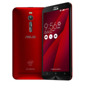 "asus zenfone 2 red 4gb 64gb quad core 5.5"" screen android 5.0 4g lte smartphone"