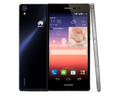 "UNLOCKED HUAWEI ASCEND P7 BLACK 2GB RAM 16GB ROM QUAD CORE 5.0"" SCREEN 4G SMARTPHONE"