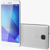 huawei honor 7 silver 3gb ram 16gb rom 20 mp android 5.0 lte unlocked smartphone