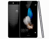NEW HUAWEI P8 LITE BLACK 2GB RAM 16GB ROM 13MP CAMERA DUAL SIM 4G LTE SMARTPHONE