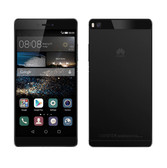 NEW HUAWEI P8 BLACK 3GB RAM 16GB ROM 13MP CAMERA DUAL SIM 4G LTE SMARTPHONE