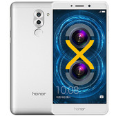 huawei honor 6x 4gb ram 64gb rom 12mp camera android 6.0 silver smartphone