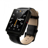 UNLOCKED NO.1 D6 1GB RAM 8GB ROM QUAD CORE ANDROID 5.1 3G BLACK SMART WATCH