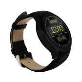 UNLOCKED NO.1 D5 MTK6572 512 RAM 4GB ROM 450MAH ANDROID 4.4 BLACK SMART WATCH