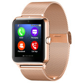 NEW Z50 SMARTWATCH GOLD 1.54 INCH IPS SCREEN SUPPORT SIM CARD & TF