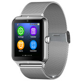 NEW Z50 SMARTWATCH SILVER 1.54 INCH IPS SCREEN SUPPORT SIM CARD & TF