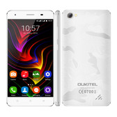 "oukitel c5 pro 2gb/16gb white 1.3ghz 5.0"" hd screen android 6.0 4g lte smartphone"