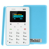 NEW AEKU M5 BLUE 4.5MM ULTRA THIN MICRO SIM GSM CARD MOBILE PHONE