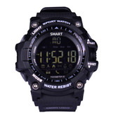 "aiwatch xwatch outdoor black sport watch 1.12"" screen bt4 waterproof smartwatch"