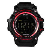 "aiwatch xwatch outdoor red watch 1.12"" screen bt4.0 5atm waterproof smartwatch"