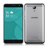 "NEW DOOGEE X7 PRO 2GB/16GB SILVER 1.3GHz 6.0"" HD SCREEN ANDROID 6.0 4G LTE SMARTPHONE"